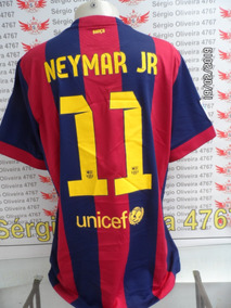 b9d72bd194 Camisa Neymar Barcelona Laranja no Mercado Livre Brasil