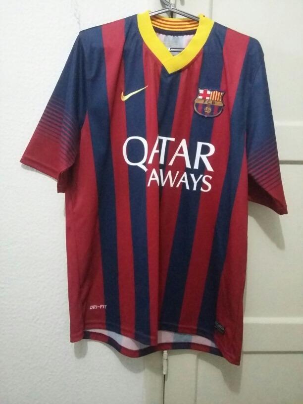 camisa barcelona neymar primeira linha tamanho g. Carregando zoom. a83cdad38d9b8