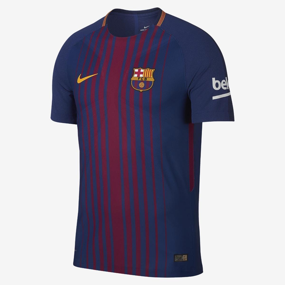 camisa barcelona nike 2017 2018 vapor jogador original. Carregando zoom. fa1723e127b42