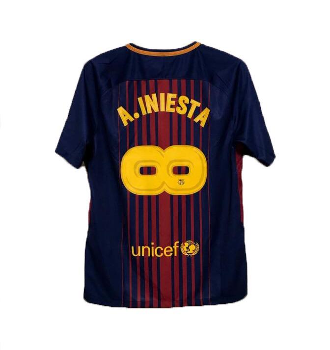 70d698fa65 Camisa Barcelona Nike Despedida  8 Iniesta - Frete Gratis - R  180 ...