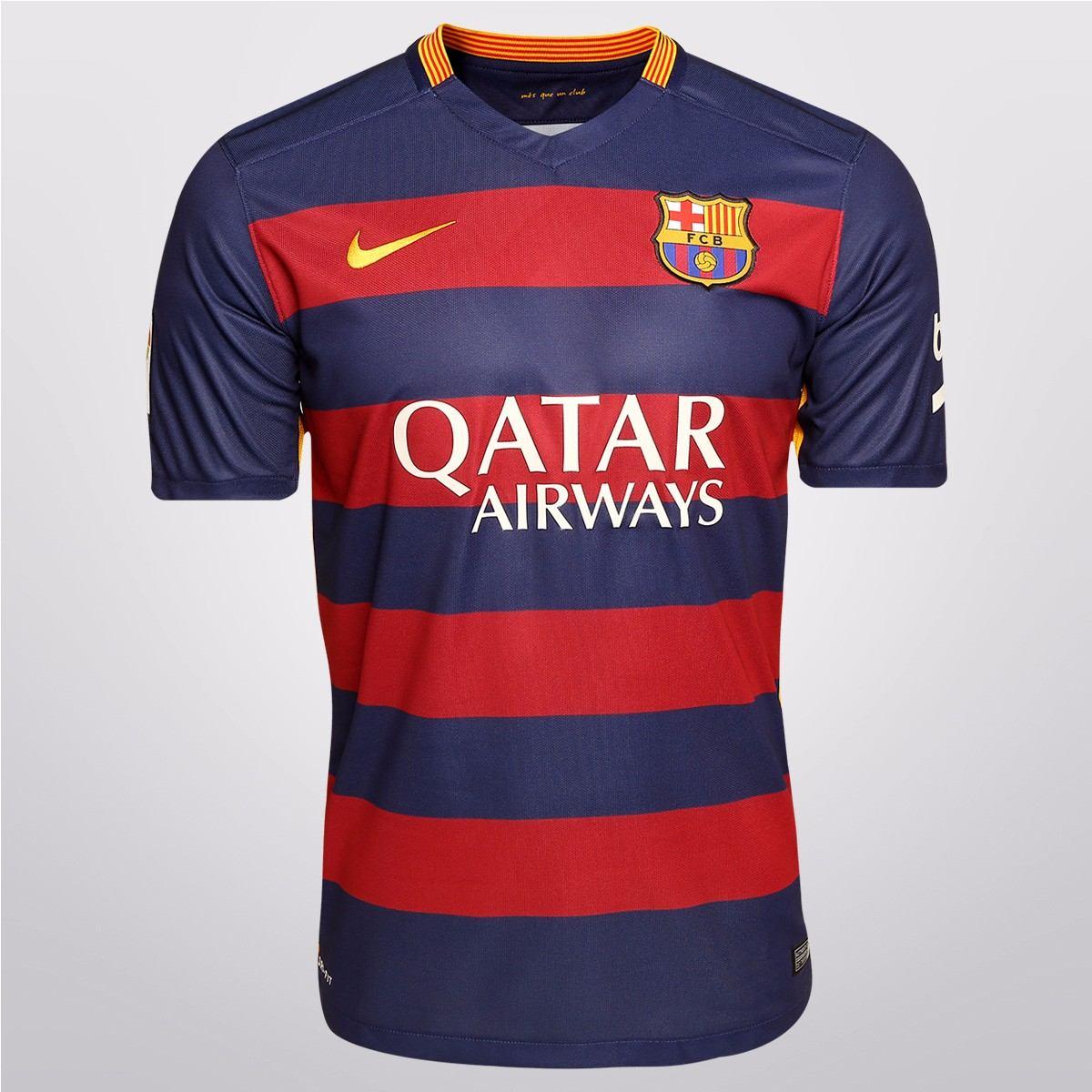 Camisa Barcelona Nike Infantil 2015 16 Home E Away - R  119 6c9aaa8f1c1f7