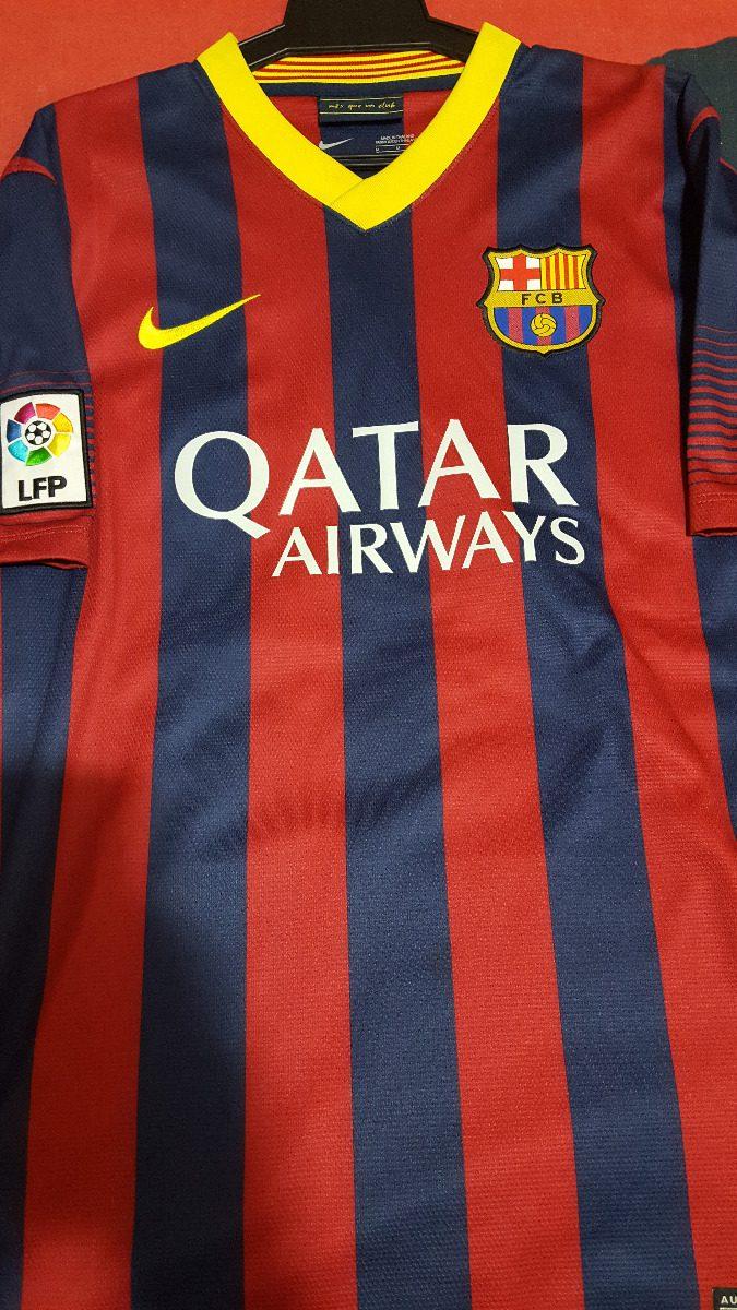 724e99aaf5 camisa barcelona - nike original messi 10 - 2013   2014. Carregando zoom.