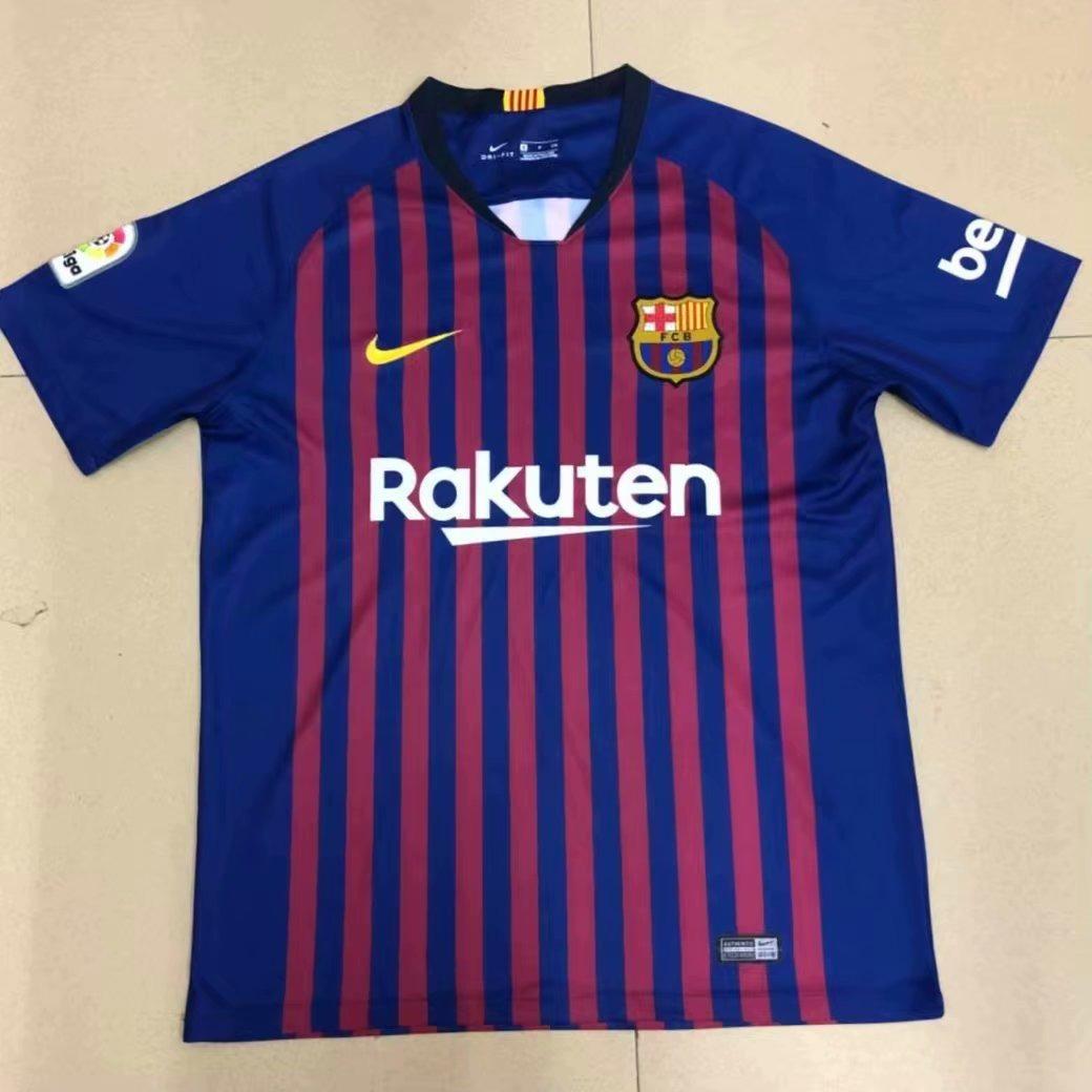 camisa barcelona nova 2018 2019 personalização frete grátis. Carregando zoom . ca08b25509fa9