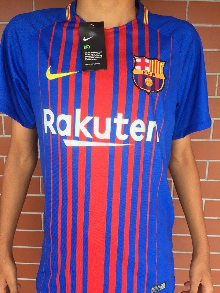 camisa barcelona oficial 2018 neymar 10 messi frete gratis. Carregando zoom. 3eca89b1a18b1