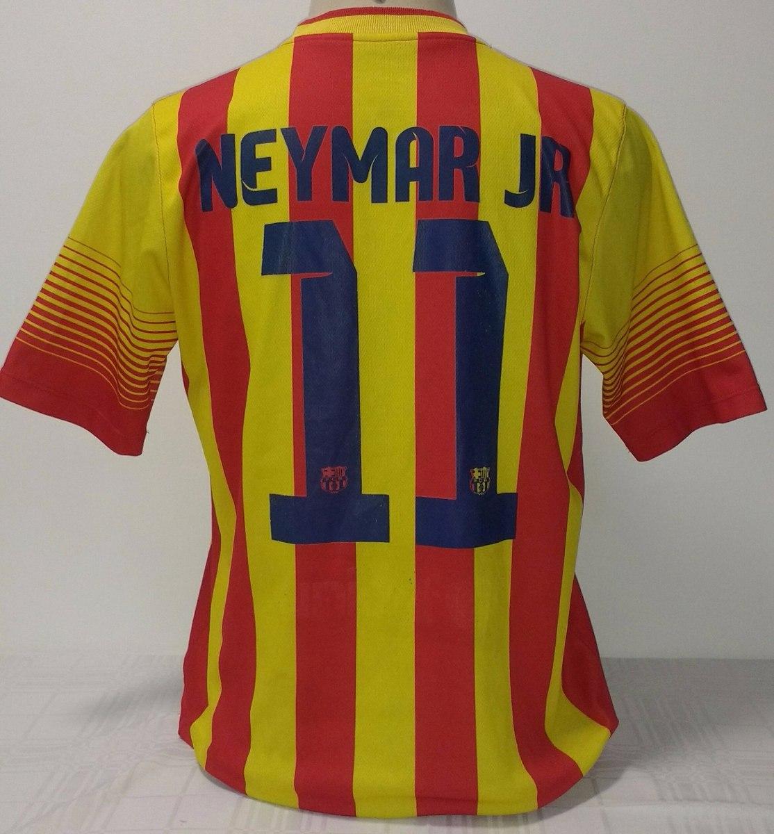 Camisa Barcelona Original Nike Craque Neymar 2014 - 14 - R  119 09d6ece04db5b