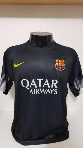 camisa barcelona preta 13-14 goleiro valdes 1 importada