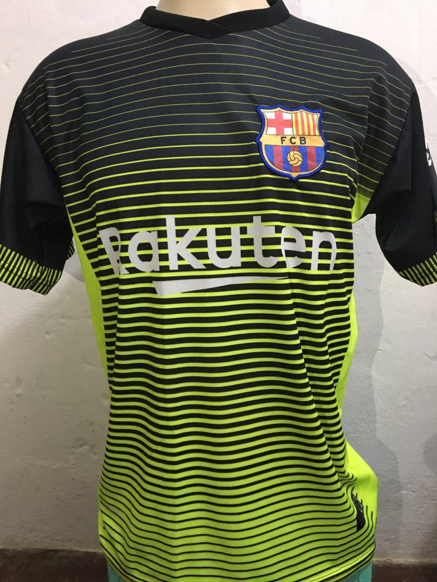 d37532a259bd5 Camisa Barcelona Preta E Rosa 2017