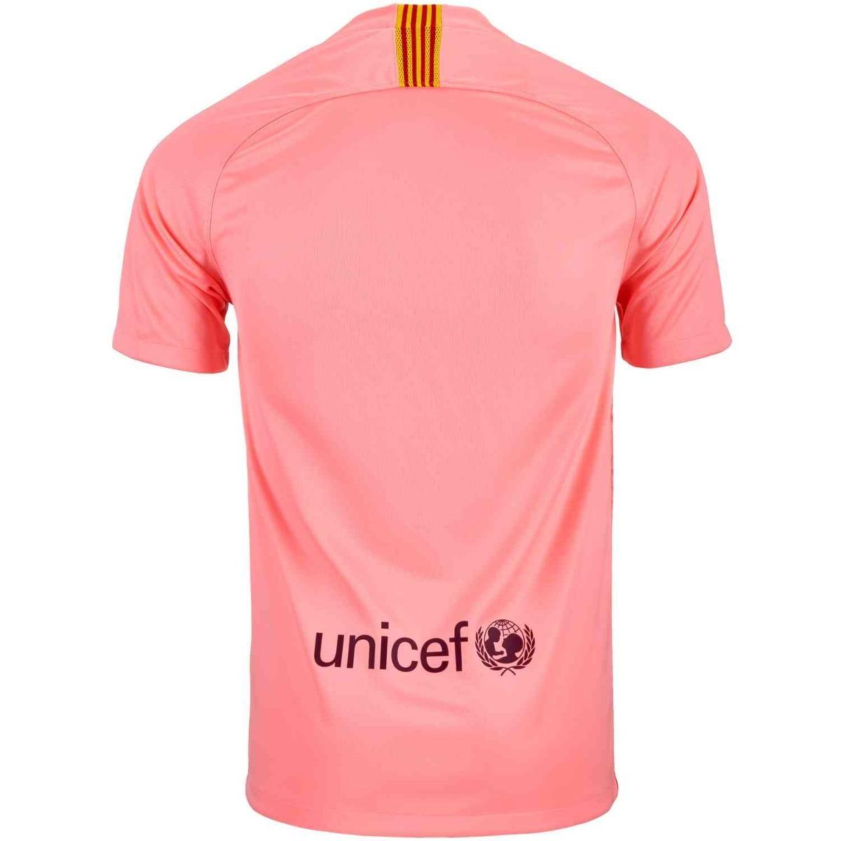 1eebfad8b4 Camisa Barcelona Rosa 18-19 ( Pronta Enterga ) Prod N br - R  139