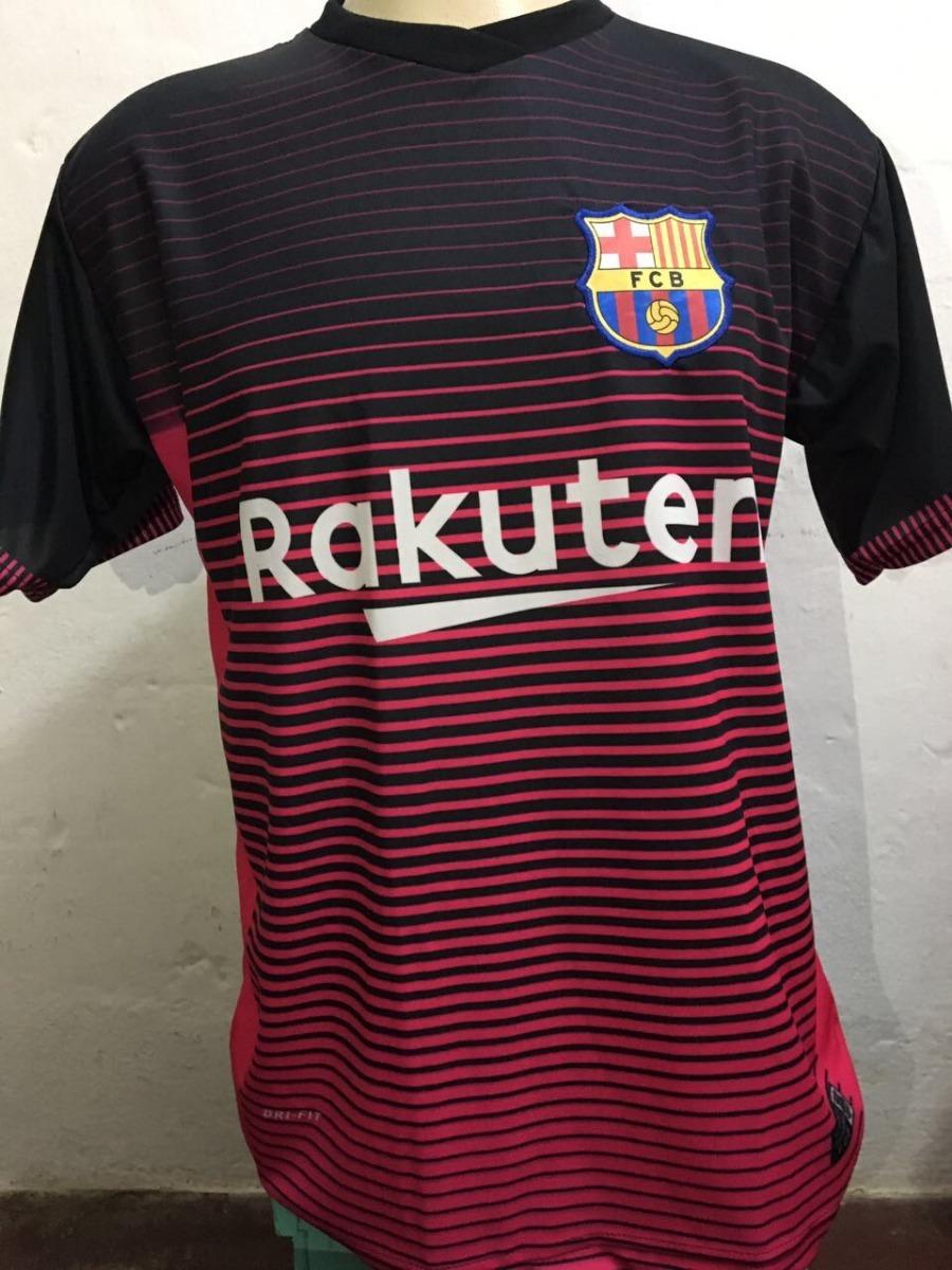 camisa barcelona rosa 2018. Carregando zoom. 9dc1702123b62