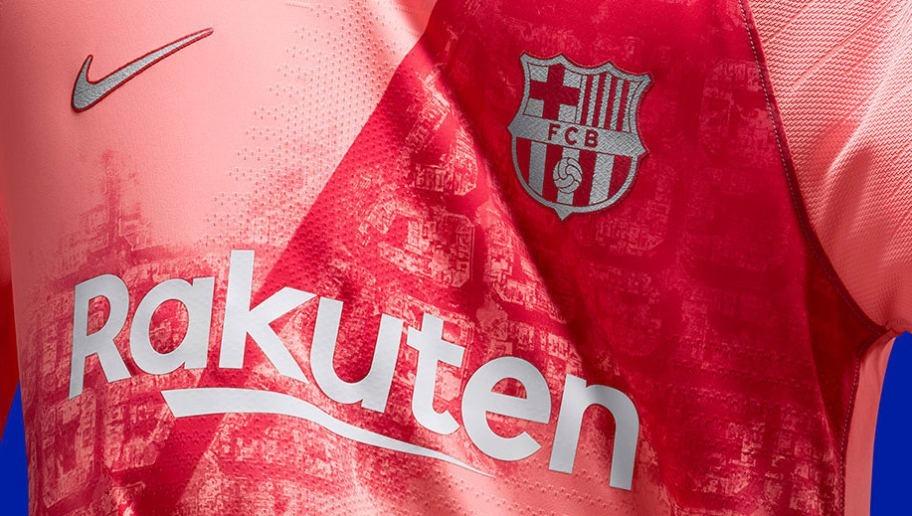 61bfeef963281 camisa barcelona rosa ( produto n brasil ) envio 24h 18-19. Carregando zoom.