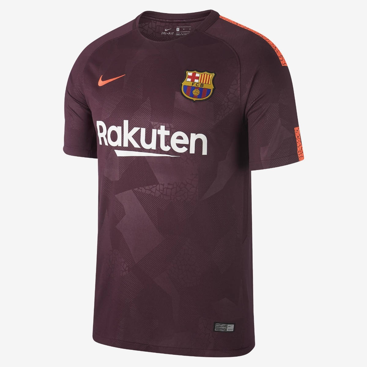 Camisa Barcelona (roxa) 2017 2018 - Com Garantia! - R  130 82be9119143b3