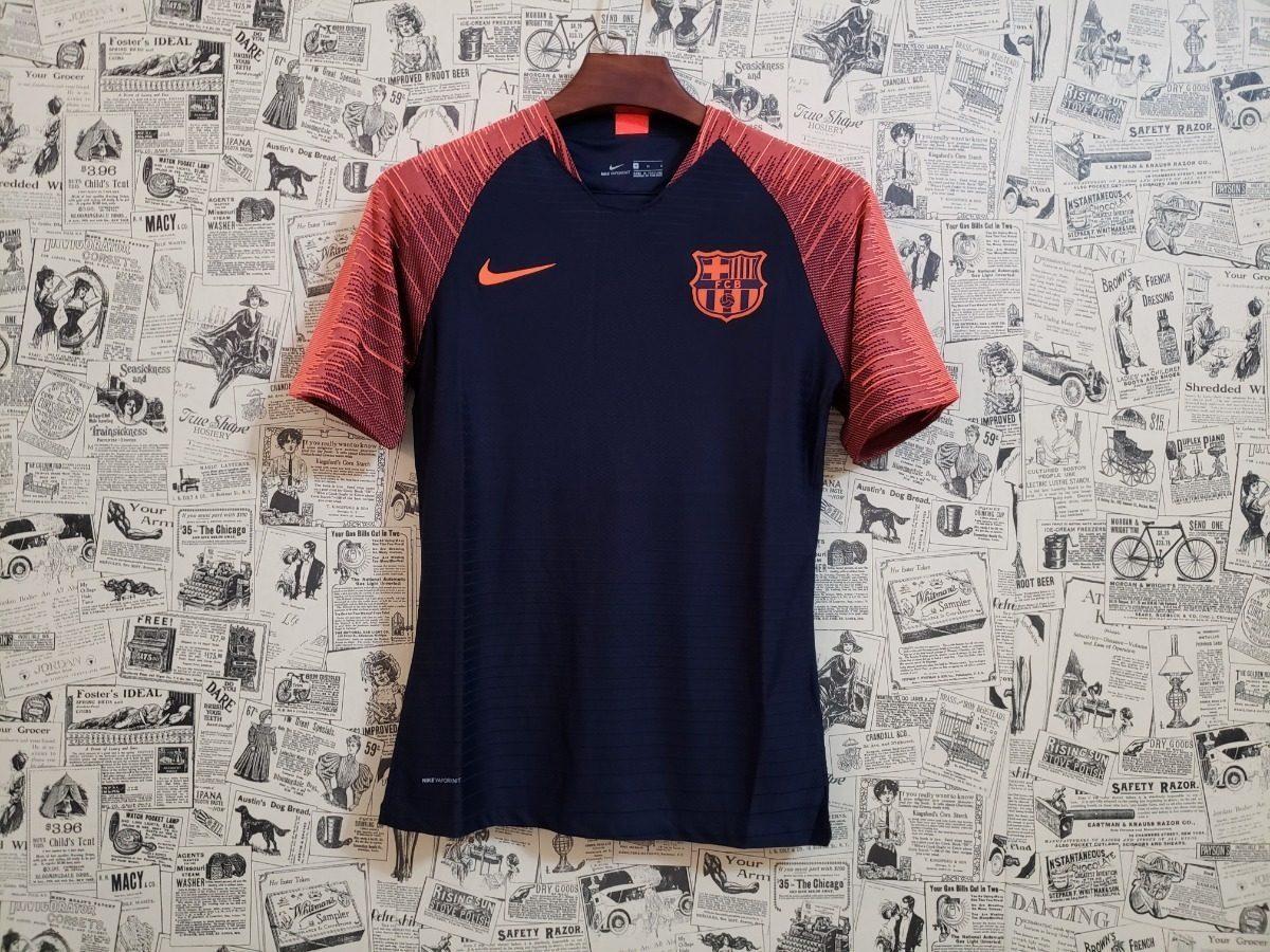 Camisa Barcelona S n Nike Treino 18 19 Original Frete Grátis - R ... b9062a8a4c784