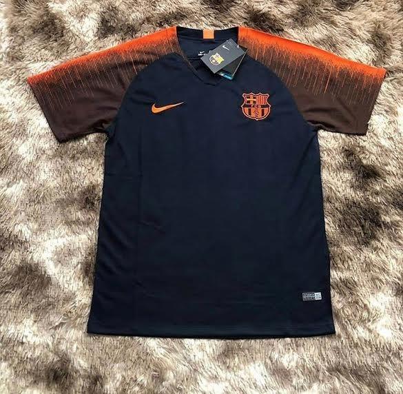 Camisa Barcelona Treino 2018-19 Nike ( Pronta Entrega ) - R  140 13bedf39b0320