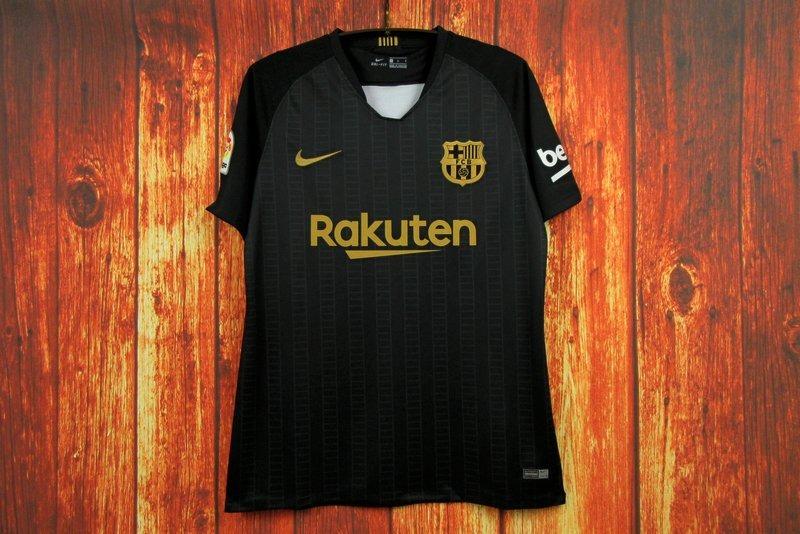 d579dbcaf192a Camisa Barcelona Treino Preta 18 19 Torcedor - R  120