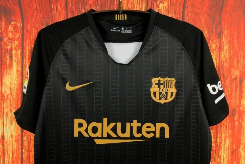 Camisa Barcelona Treino Preta 18 19 Torcedor - R  129 4f97b0dc83a1b