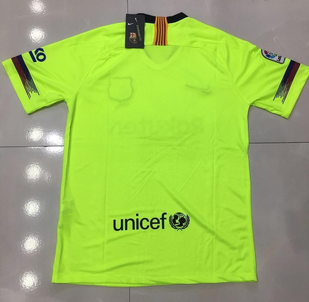 ce771fe9ee037 camisa barcelona uniforme l 2018 19. Carregando zoom.