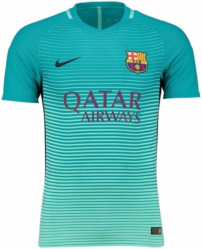 camisa barcelona verde nike oficial oferta. Carregando zoom. 5b4cb8f1d8dfa