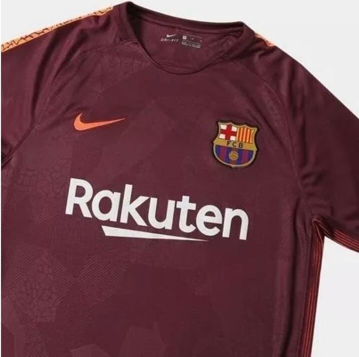 068a9e4b2c Camisa Barcelona Vinho S n° 17 18 - Torcedor Nike Masculino - R  158 ...