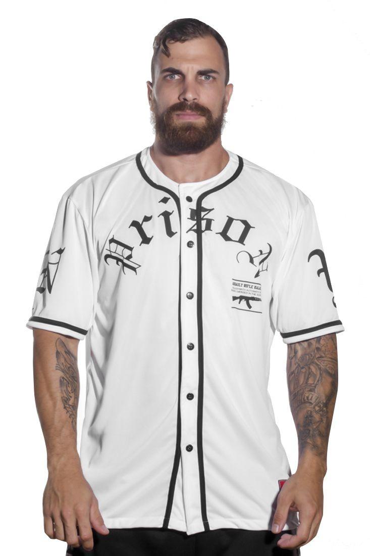 858ac5139 camisa baseball ak streetwear skate branca. Carregando zoom.