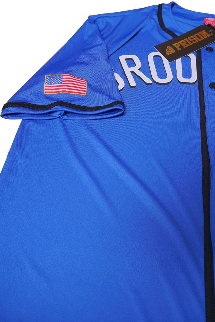 camisa baseball brooklyn streetwear skate azul. Carregando zoom. b50e120ed1867