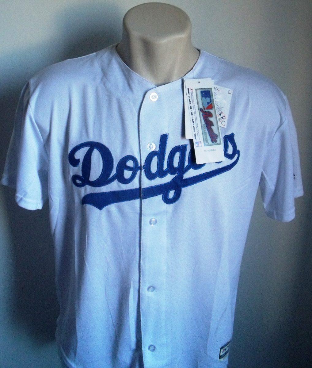 46a8408e9a905 camisa baseball mlb los angeles dodgers branca bordada. Carregando zoom.