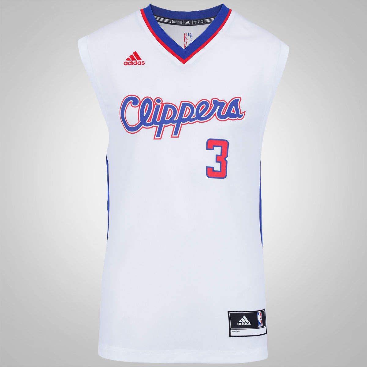e918b35cf camisa basquete adidas nba los angeles clippers nº3 paul cnf. Carregando  zoom.