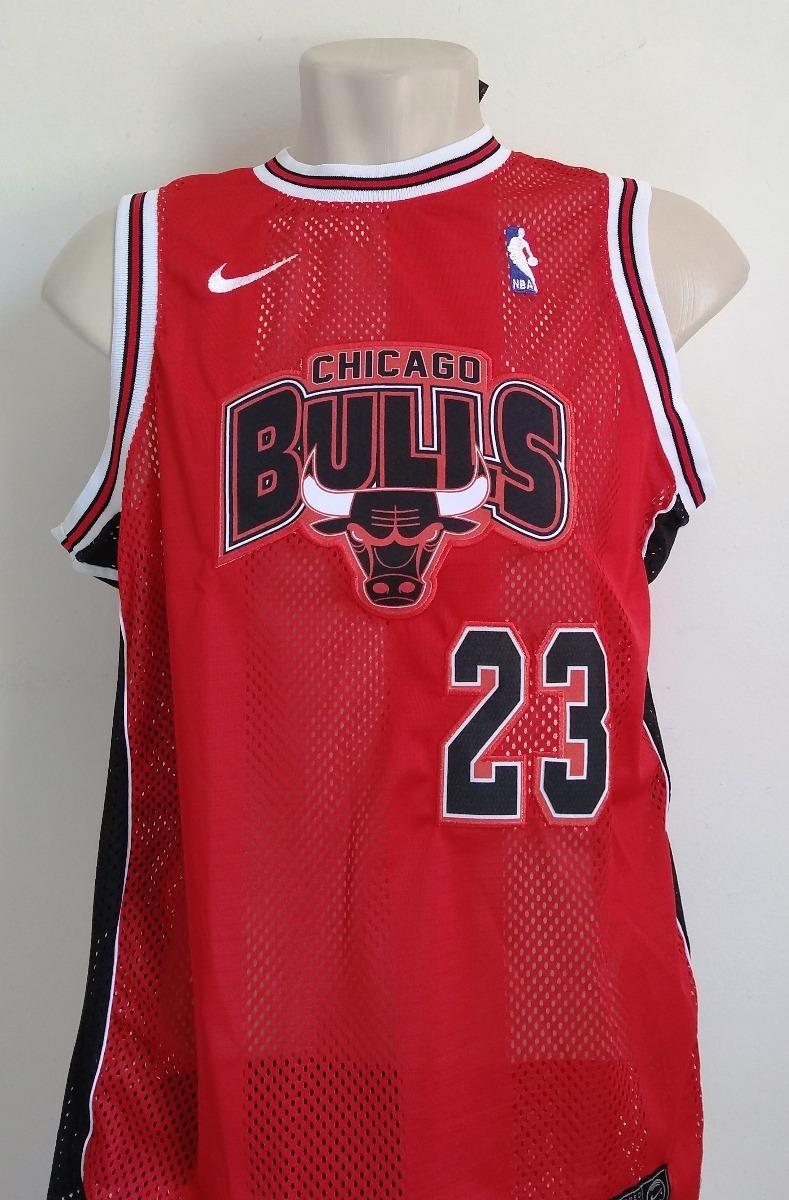 camisa basquete chicago bulls vermelha bordada - jordan 23. Carregando zoom. 37b9c51bc2f