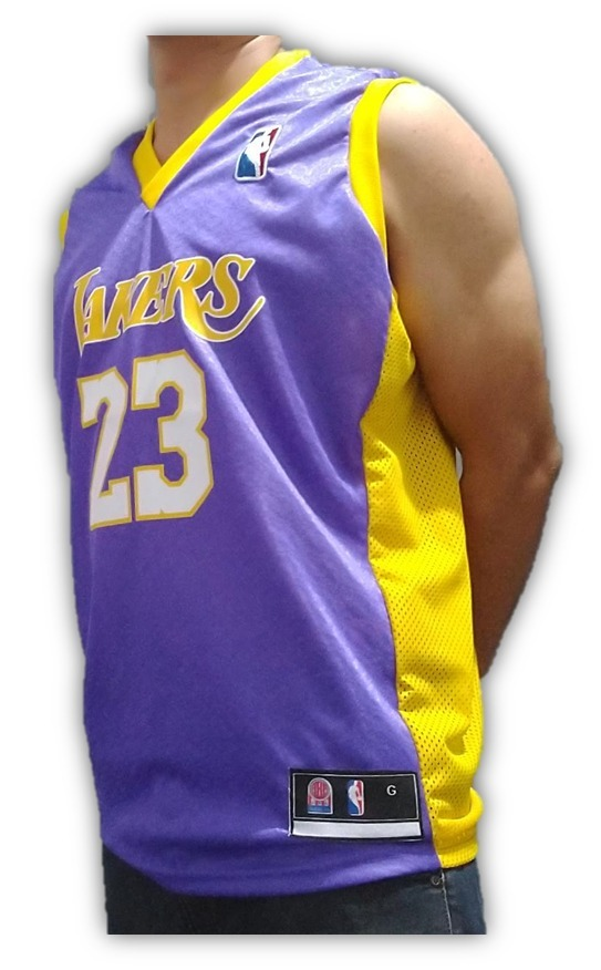 286eb4ec4 camisa basquete los angeles lakers lebron james frete gratis. Carregando  zoom.