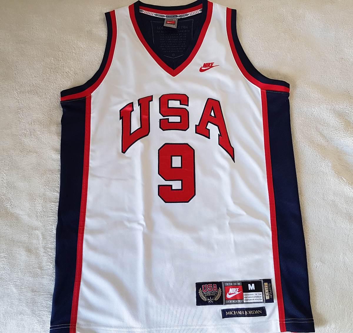e7b1d5e6d2c camisa basquete michael jordan - seleção usa - 1984 - nike. Carregando zoom.
