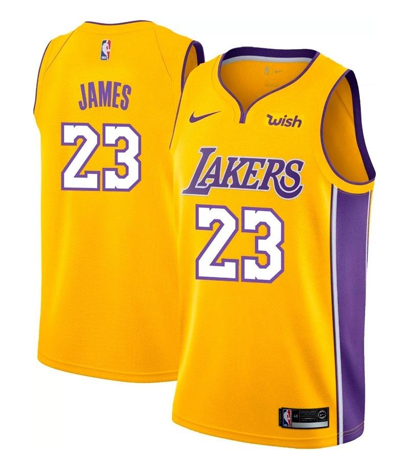 9a7809936 camisa basquete nba lakers 2019 lebron  23. Carregando zoom.