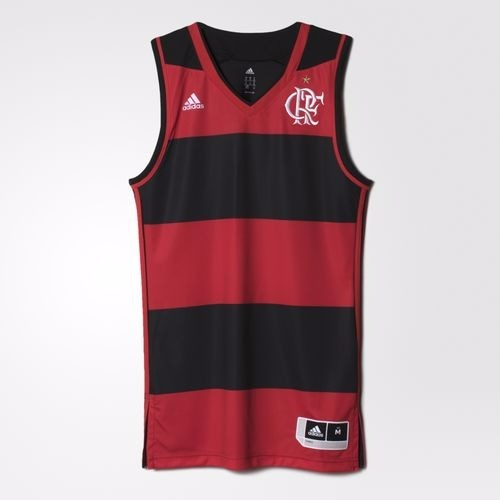 ea1f6ae35a Camisa Basquete Regata Flamengo adidas Nba 2016 2017 - R  159