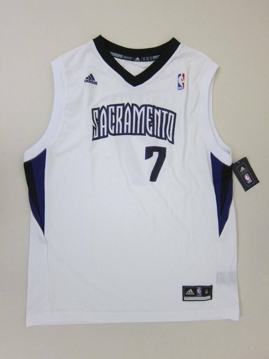 Camisa Basquete Sacramento Kings Fredette 7 Juvenil Gg - R  104 d86aef13f476f