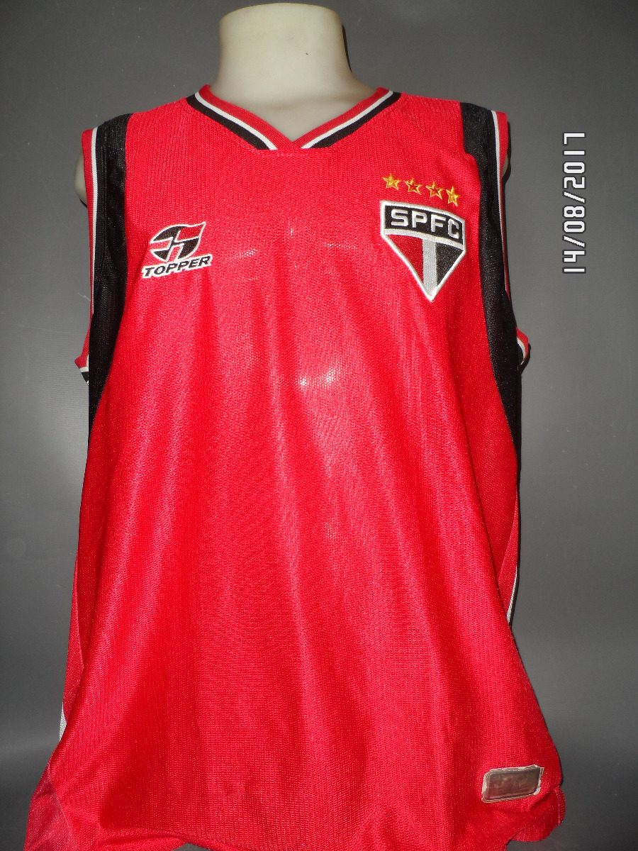 e187bb89337e5 Camisa Basquete São Paulo 2004 05 N 17 - R  150