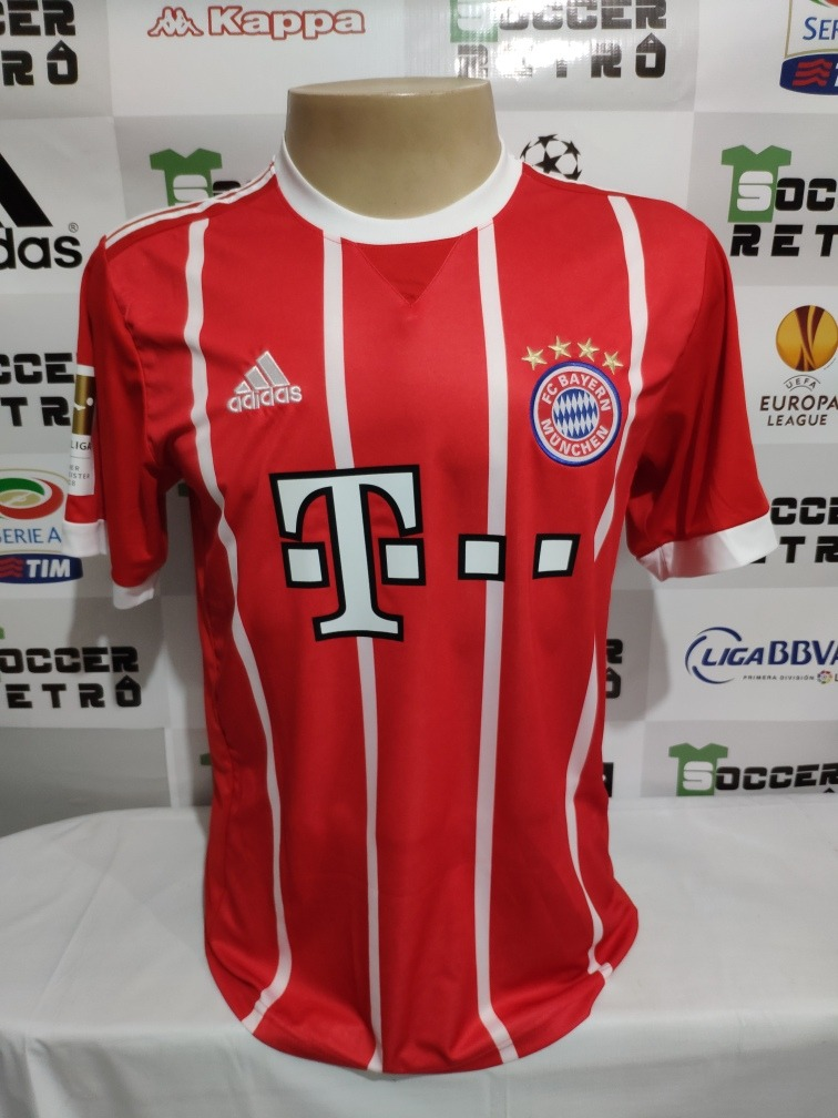 bc35574af2 Camisa Bayern De Munique 2017-18 Robben 10 À P/ Entrega - R$ 175,00 ...