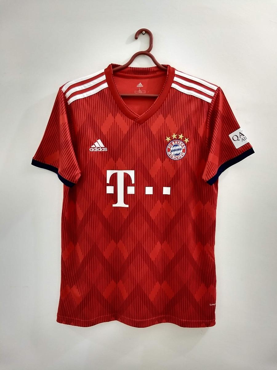 db2d6029132 Camisa Bayern De Munique 2018 2019 Pronta Entrega - R  139
