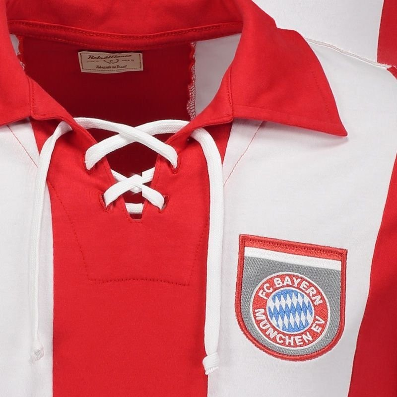 252c0e5112 Camisa Bayern De Munique Retrô 1969 Manga Longa - R$ 114,90 em ...