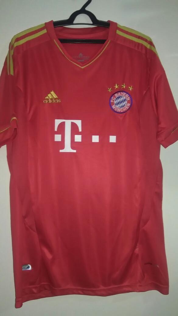reputable site 7cdfe f0be0 Camisa Bayern Munich - 2012/2013 - Modelo Paralelo