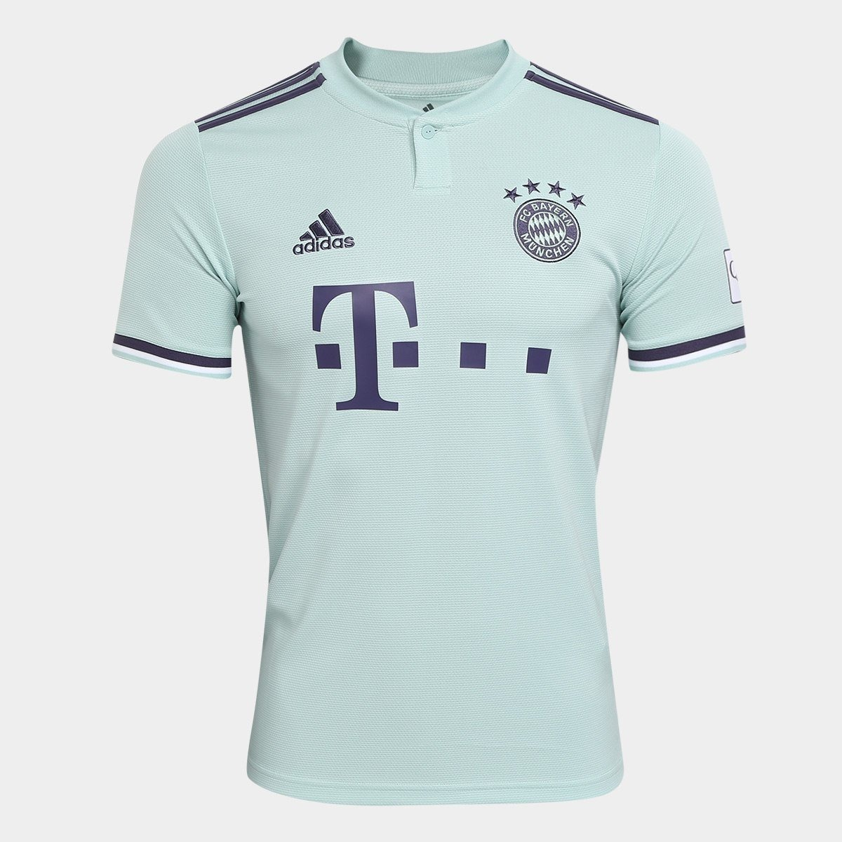 876d216358 Camisa Bayern Munich 2018 2019 Uniforme 2 Pronta Entrega - R  119