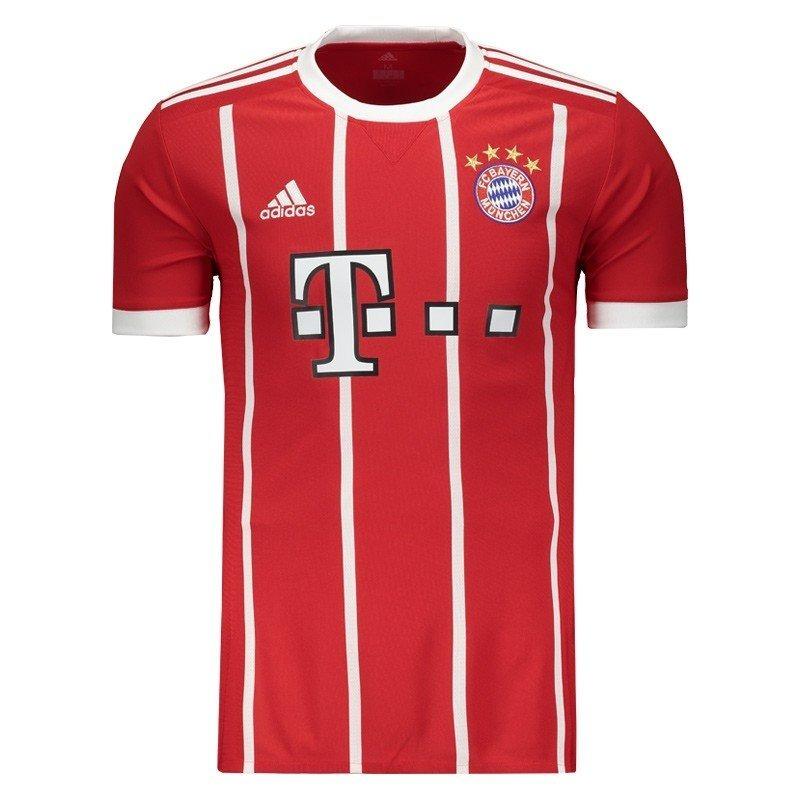 5b239f7762490 Camisa Do Bayern De Munique Nova Alemão Liga Lançamento - R  89