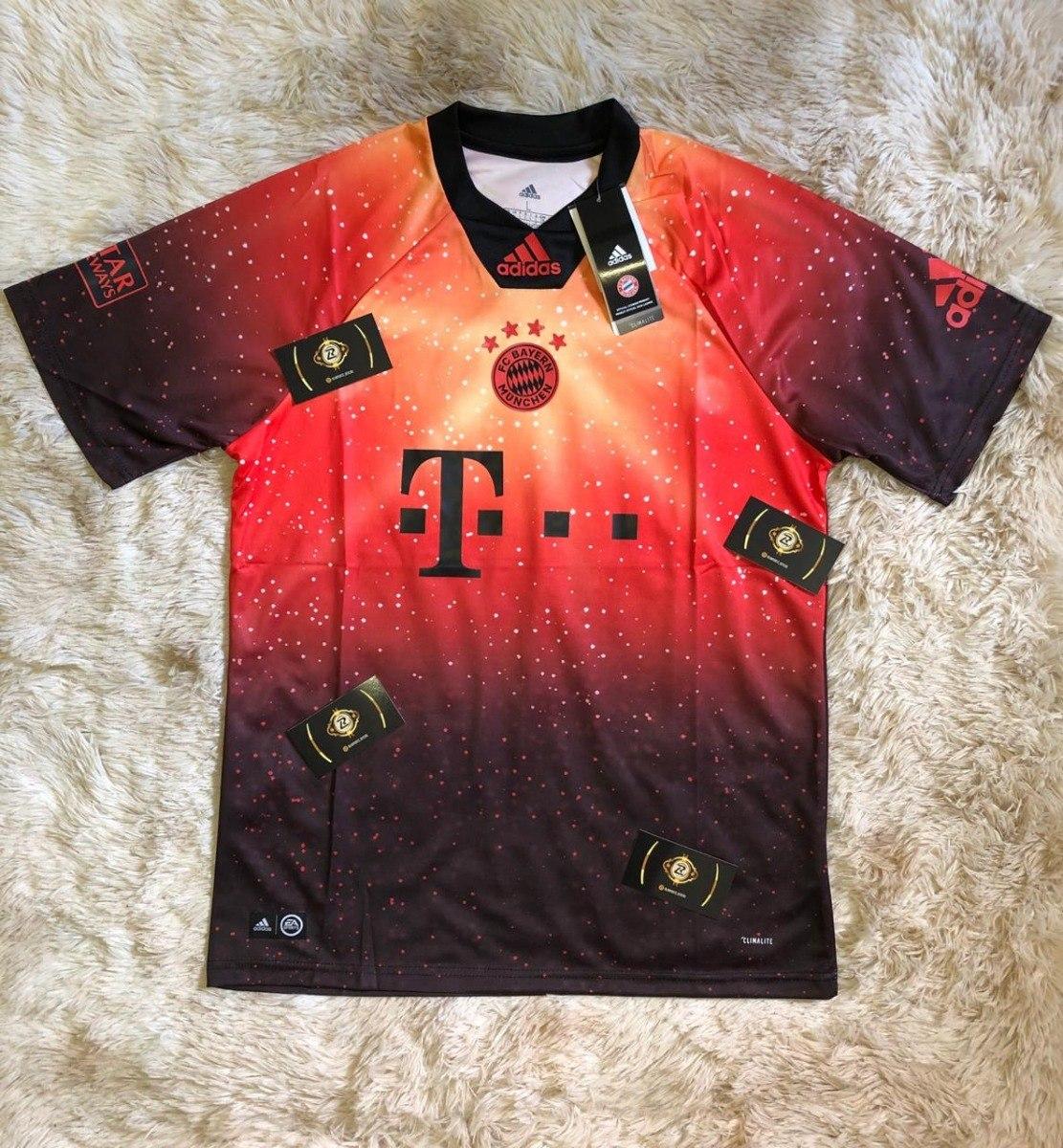 Camisa Do Bayern De Munique Oficial 2018 Modelo Fifa Compre - R  160 ... 3a1cf85ca7668