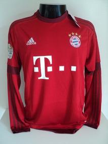 4e7316741b Camisa Bayern Munich Manga Longa no Mercado Livre Brasil