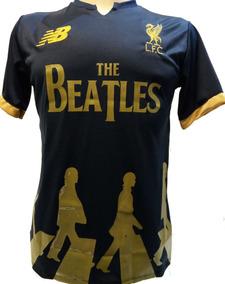 premium selection 502c7 41575 Camisa Beatles Liverpool Homenagem Bordada