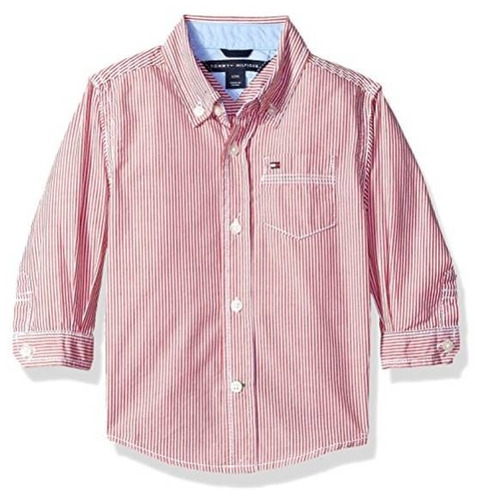 camisa bebe niño tommy hilfiger talla 5 bautizo cumpleaños