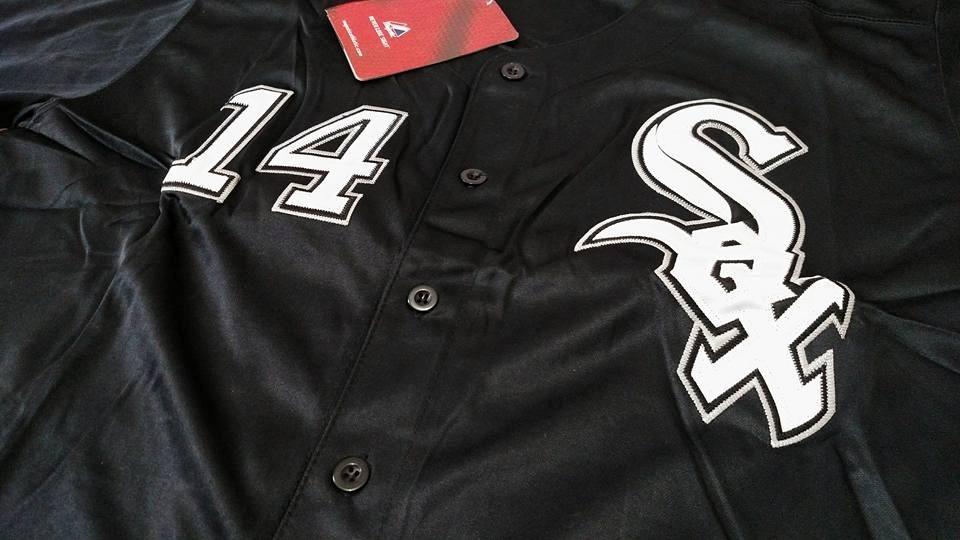 ec96e9ff2f149 camisa beisebol mlb chicago sox 14 konerko. Carregando zoom.
