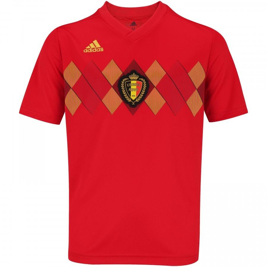 Camisa Bélgica 2018 -19 Copa Do Mundo Original Torcedor - R  149 8f42cbdcefcec
