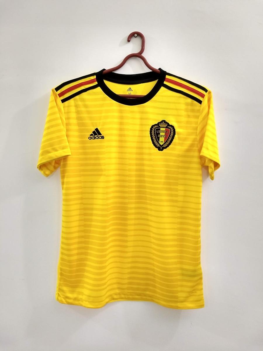 46d03de71d Camisa Bélgica Amarela Copa Do Mundo Rússia Pronta Entrega - R  139 ...
