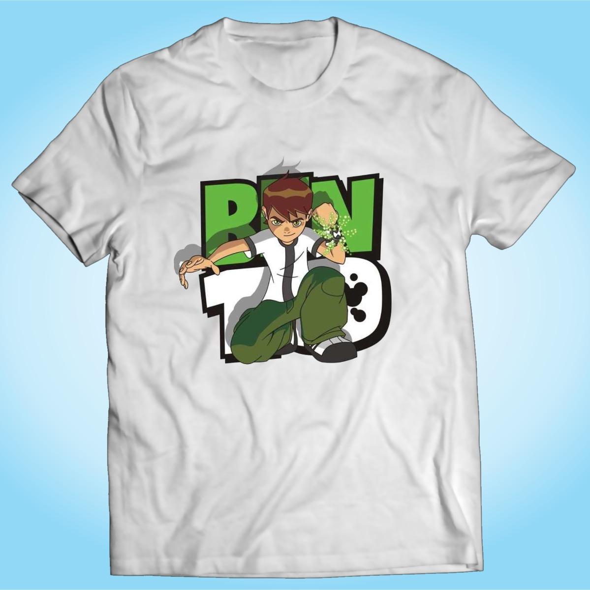 Camisa Ben 10 Desenho Animado Tv Personalizada R 29 90 Em