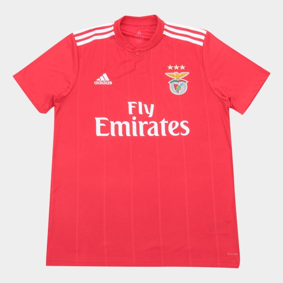 camisa benfica i 2018 torcedor adidas masculina - vermelho. Carregando zoom. 8b0695e50df73
