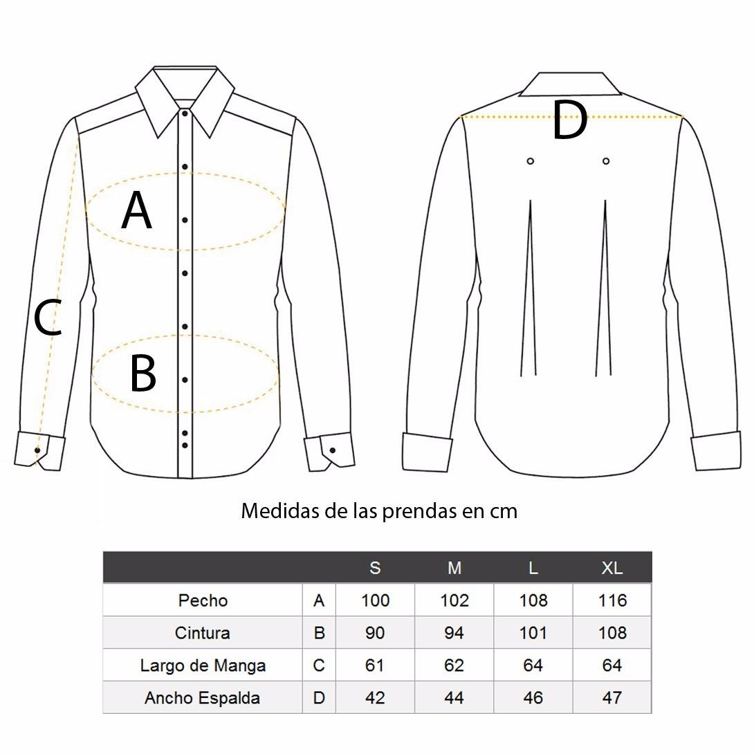 754df52b10451 Camisa Blanca Casual Hombre Básico Cuello Rack   Pack -   399.00 en ...