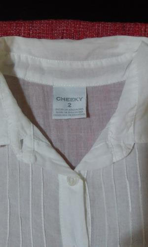 camisa blanca cheeky 2